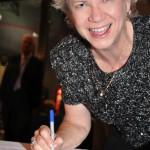 Kate Tweedy signing