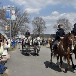 Mounted Squad escort