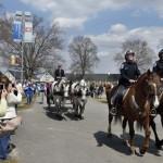 Mounted Squad escort